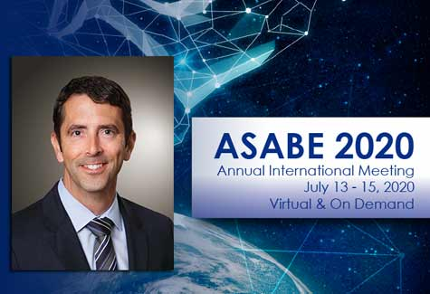 ASABE Welcomes Newly Named Deere President John Stone as Annual Meeting Keynote Speaker